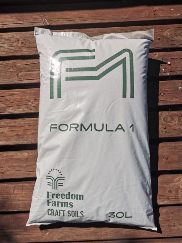 Formula 1 Soil Mix