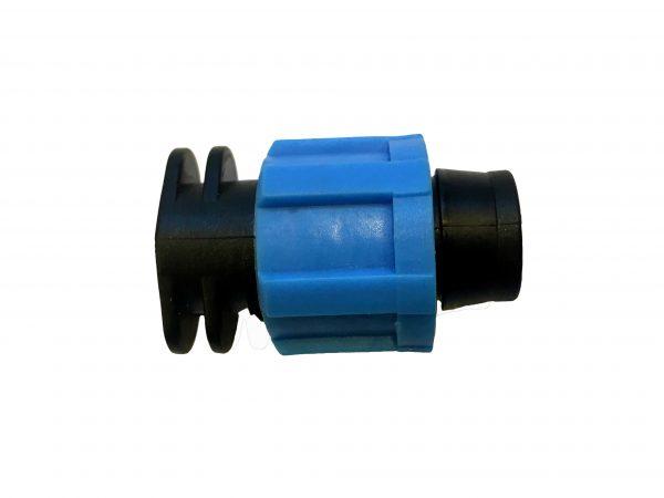 BLumat irrigation end connector