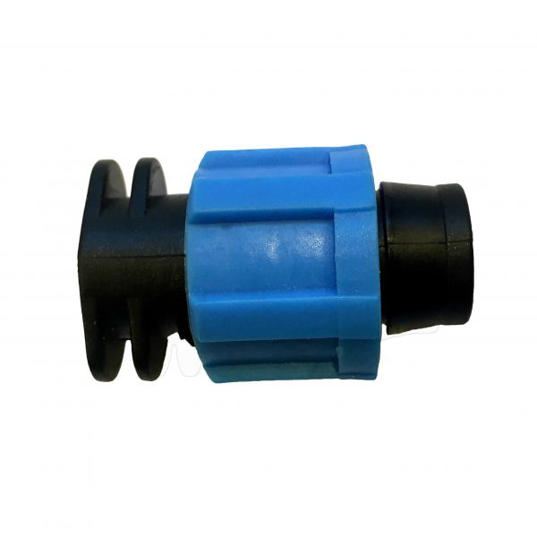 BLumat irrigation end connector