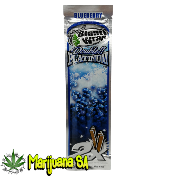 Double Platinum Blueberry Blunt wrap