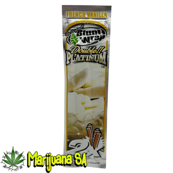 Double Platinum Blunt wrap French Vanilla