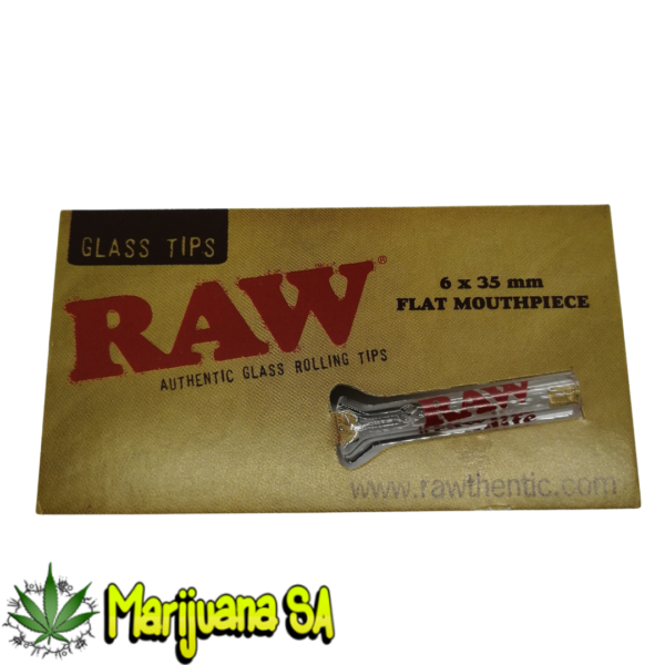 RAW MSA glass smoking tip