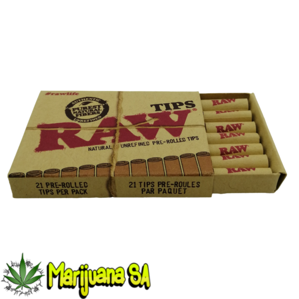 RAW pre rolled tips MSA