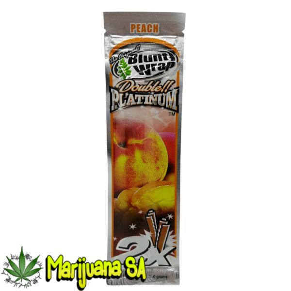 Peach Double Platinum Blunt wrap