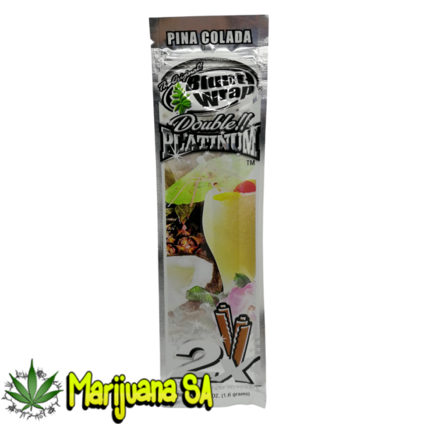 Pina Colada Blunt Wrap Double Platinum