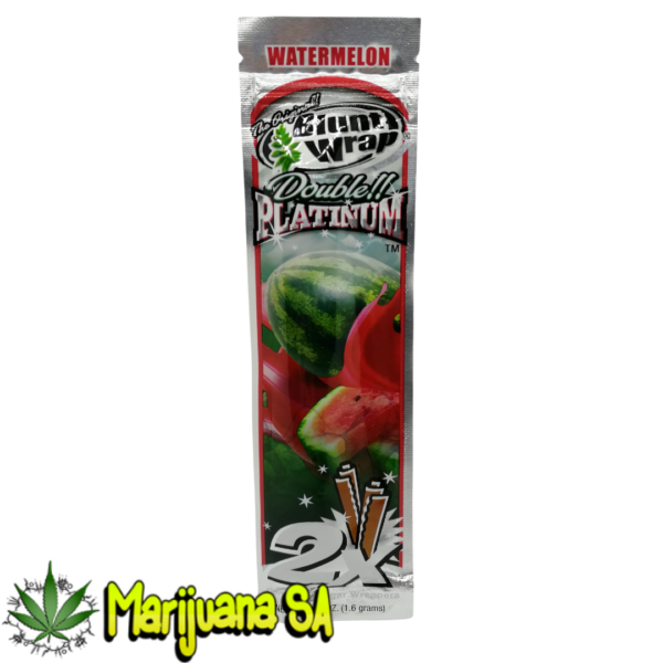 Blunt wrap watermelon double platinum
