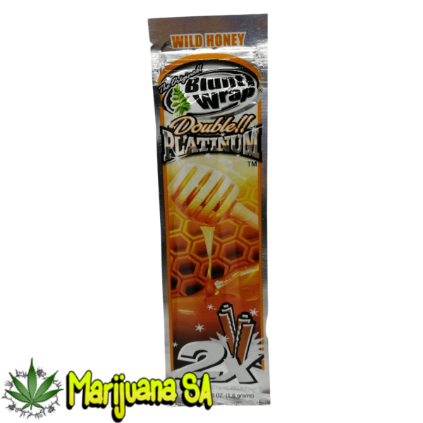 Wild Honey Blunt wrap Double Platinum