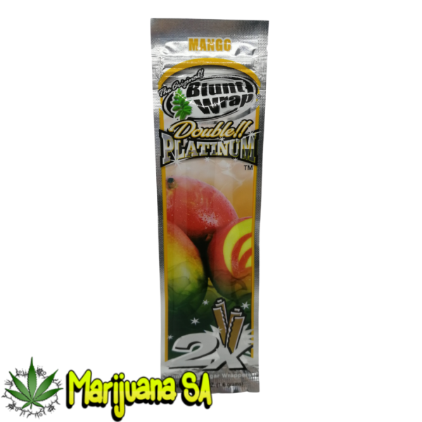 Blunt Wrap Double Platinum - Mango