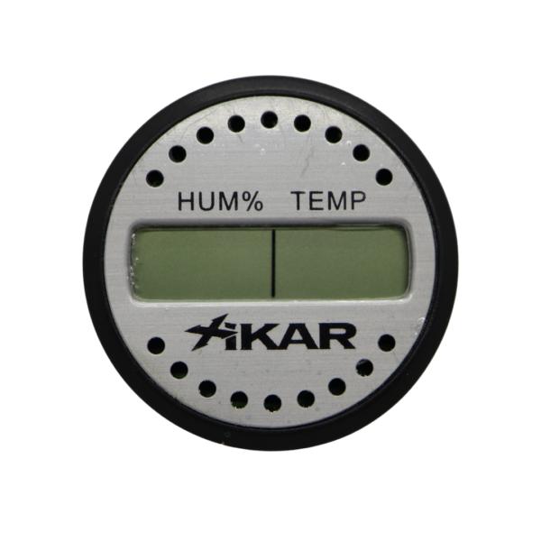 Cannabis Jar Hygrometer Xikar - Round
